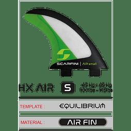Quillas FCS Scarfini HX AIR LARGE~ DUAL TAB (FCS)