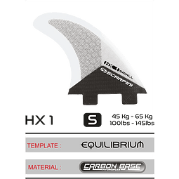 Scarfini Fins Quad (4 Fins)