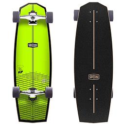 Surfskate Surfeeling MR. POP NEW - Yellow Neon