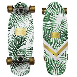 Skate Redo Shorty Cruiser Green Palm
