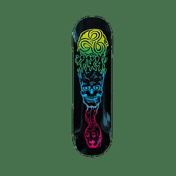 "Skateboard deck Sunrise ""mindBlow"" naranjo"