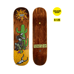 "Skateboard deck Sunrise ""Mejicano"""