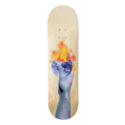 """Skateboard deck Sunrise """"world"""""""