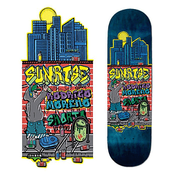 "Skateboard deck Sunrise ""Shorto"""