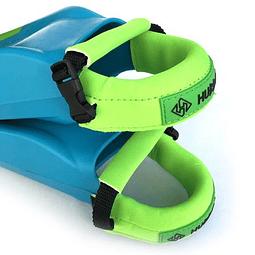 Aseguradores de aletas Hubb Deluxe Premium Green