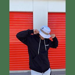 Poleron Hoodie Vegas Apparel con cierre - Negro