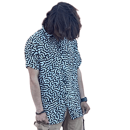 Camisa Volcom Blanca / Negro