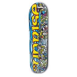 Skateboard Deck Sunrise Valpo dani 8.5×32 Kick Shape