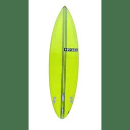 Surfboard Pyzel Tank 6'4 19,25 x 2,75 33,4 lts