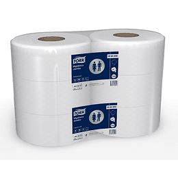 Papel higiénico 600 m hoja simple (6 rollos)