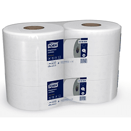 Papel higiénico 250 m doble hoja (6 rollos)