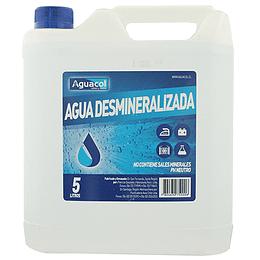Agua desmineralizada 5 litros
