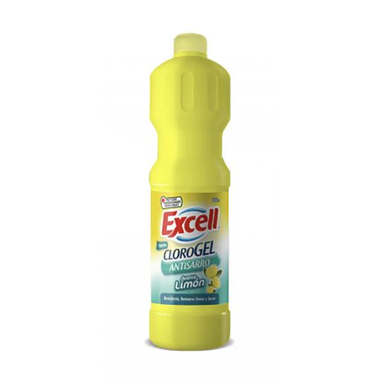 Cloro gel limón 900 cc