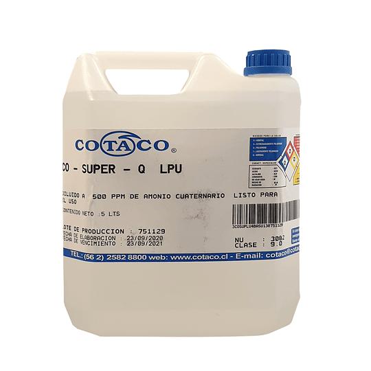 Amonio cuaternario 5 litros listo para usar