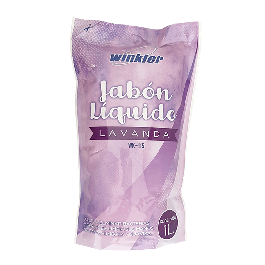Jabón líquido Lavanda 1 litro