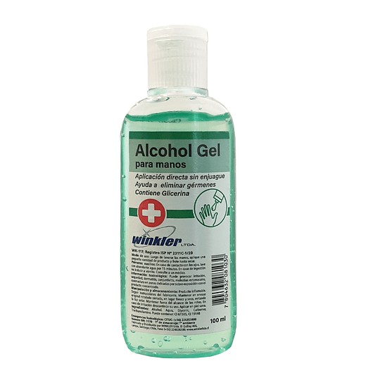 Alcohol gel para manos 100 ml