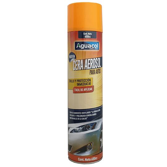 Cera spray para autos 650 ml
