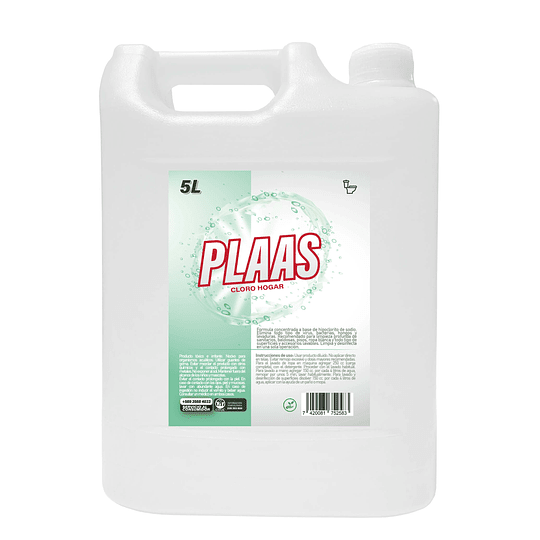 Cloro gel Menta 5 L