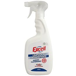 Limpiador desinfectante con amonio cuaternario