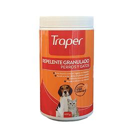 Repelente granulado para gatos y perros