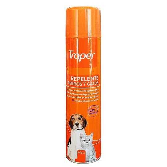 Repelente aerosol para gatos y perros