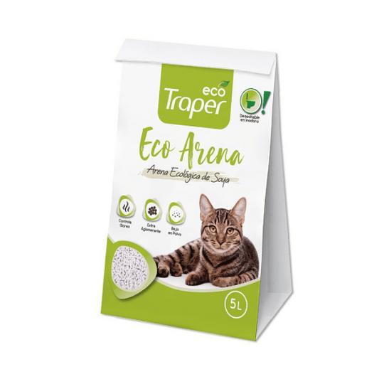 Eco arena aglutinante para gatos 5L