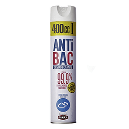 Desinfectante en aerosol 400 ml