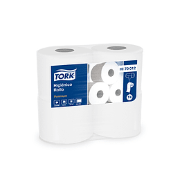 Papel higiénico 30 m doble hoja (4 rollos)