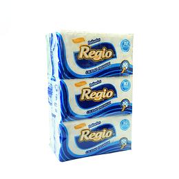 Pañuelos desechables 6 paquetes (10 unidades por pqte)
