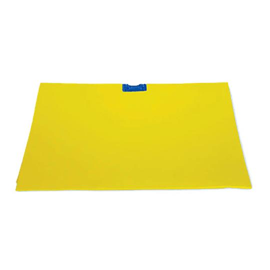 Trapero gamuza amarillo 50 x 60 cm con ojal