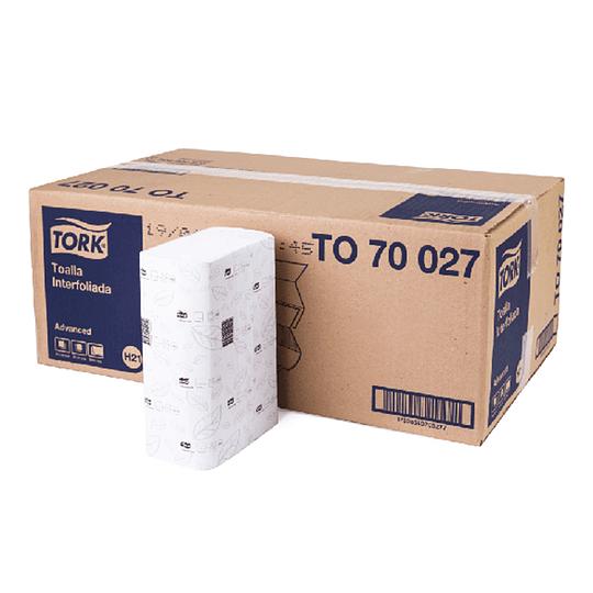 Toalla interfoliada Advanced doble hoja 3.200 unidades