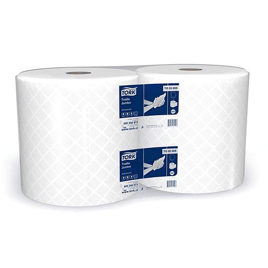 Toalla de papel Advanced 280 m hoja simple (2 unidades)