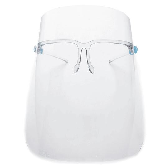 Escudos faciales fijación tipo lentes