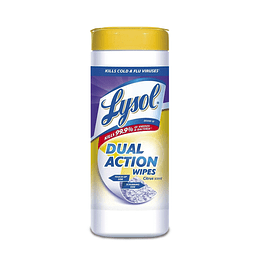 Lysol Toallas Desinfectantes Dual Action 35 unid