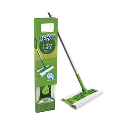 Swiffer Mopa Kit Seco y Humedo trabajo regular y pesado 1 kit