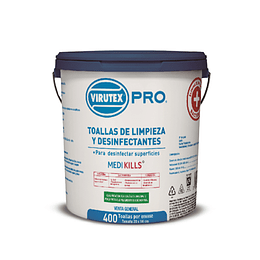 Virutex Toallas Humedas Desinfectantes 400 unid