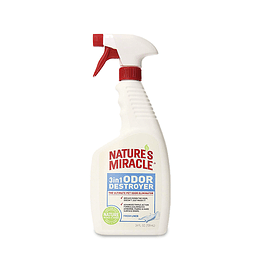 Natures Miracle 3 en 1 Destructor de Olores de Mascotas 709 ml