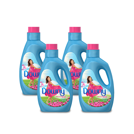Downy Suavizante Semidiluido April Fresh 4 x 2,95 L