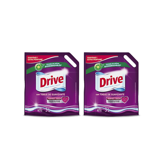 Drive Detergente Liquido Perfect Touch Doypack 2 x 3 L