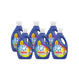 Ariel Power Liquid Detergente liquido concentrado Revitacolor 6 x 1,8 L