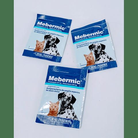Antiparasitario Mebermic 1 comprimido para perro o gato