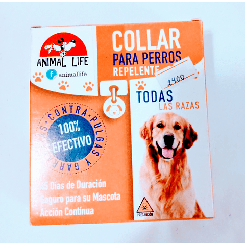 Collar anti pulgas  para perro