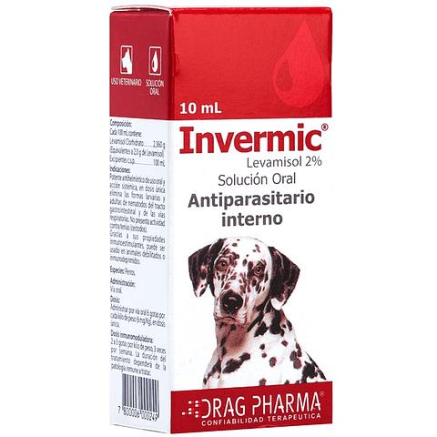 Invermic gotas 10 ml perros