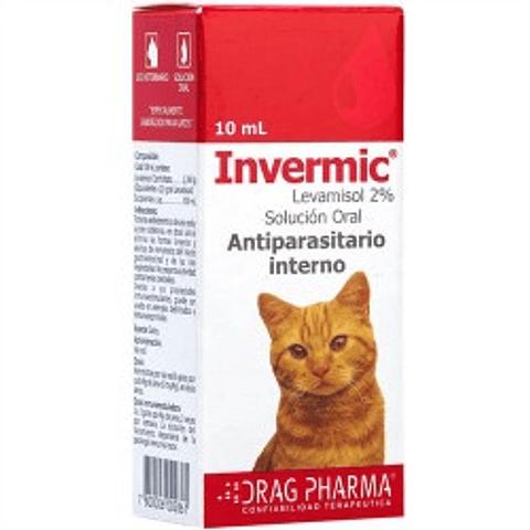 Invermic Gotas 10 ml gatos