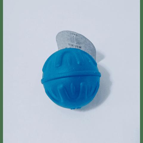 Juguete. Pelota (10 cms) con textura tamaño mediano para perro