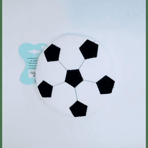 Juguete peluche pelota plana para perro