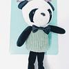 Juguete. Peluche oso panda