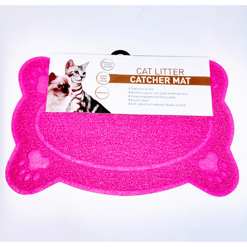 Alfombra pequeña 4 patitas para perro/gato. (40 cms x 26 cms)