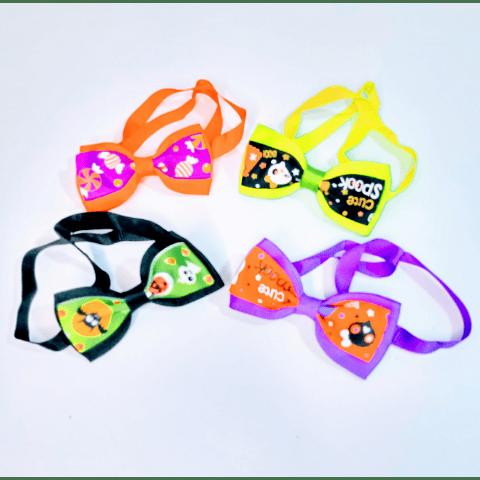 Collar con Humita diseño Halloween para mascotas.