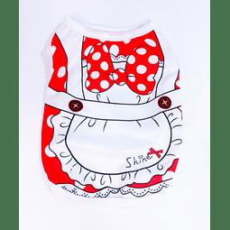 Polera diseño Minnie